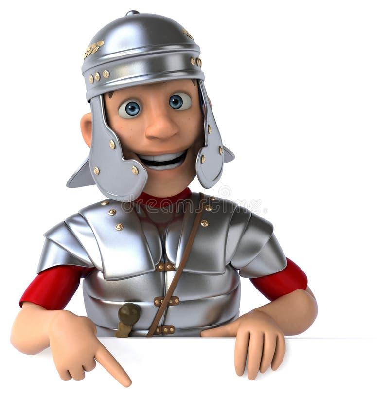 legionowy rzymski żołnierz royalty ilustracja