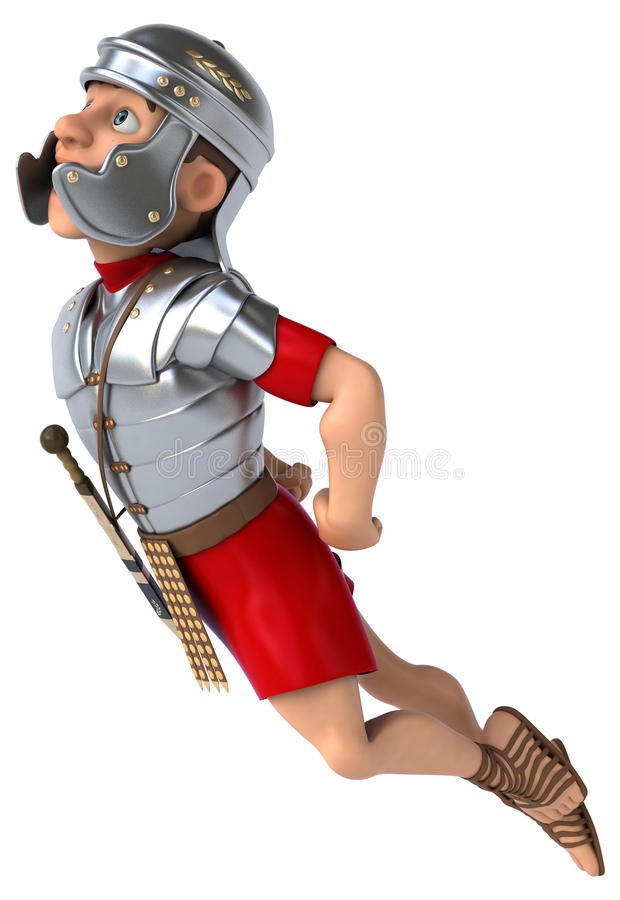 legionowy rzymski żołnierz ilustracja wektor