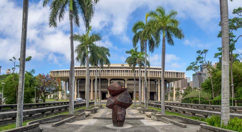 Legislatura estatal de Hawaii fotos de archivo libres de regalías