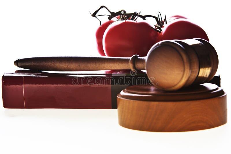 Legislazione alimentare fotografia stock libera da diritti