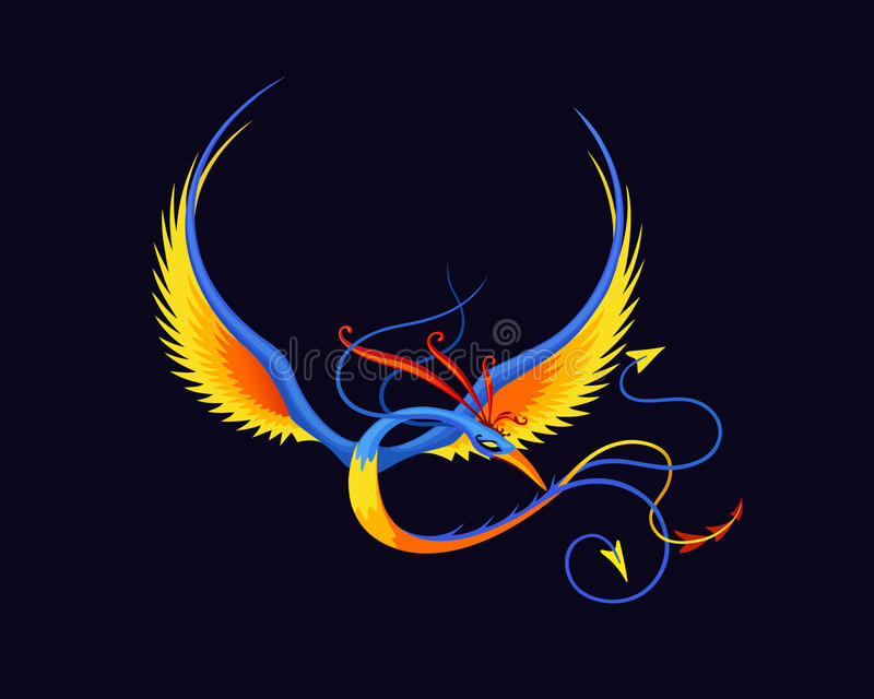 Legless paradijsvogel royalty-vrije stock afbeelding