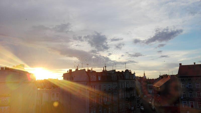 Legnica stad royaltyfri bild