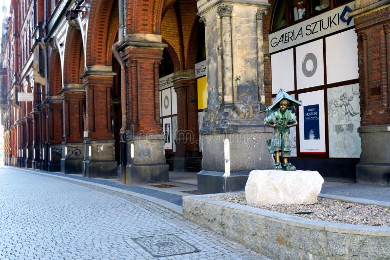 Legnica. Street landscape of Legnica, Poland royalty free stock photo