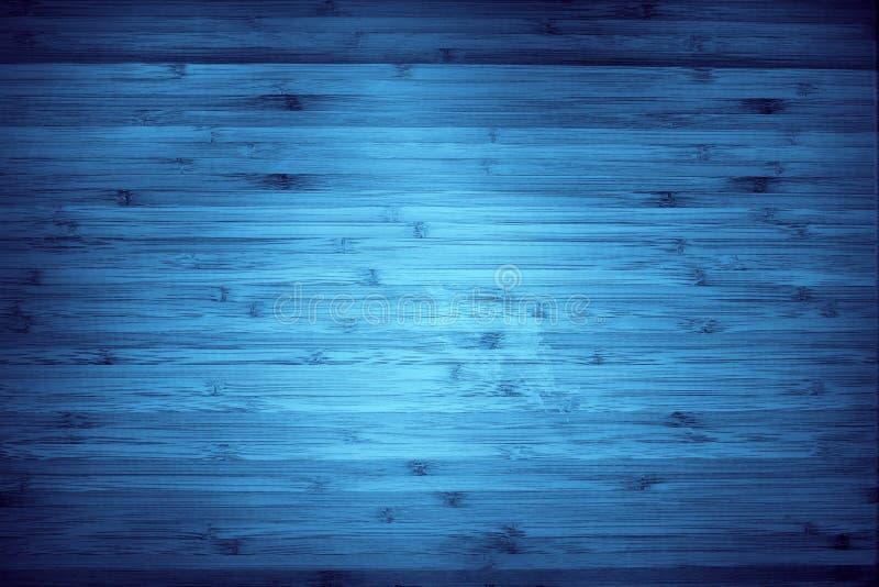 Legno blu fotografie stock