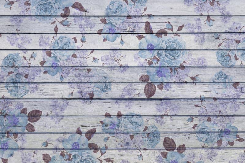 Legno blu immagini stock