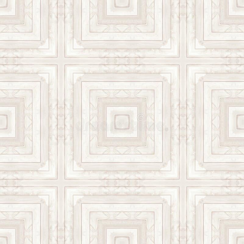 Legno del pavimento di struttura del modello del parquet di legno senza cuciture illustrazione vettoriale