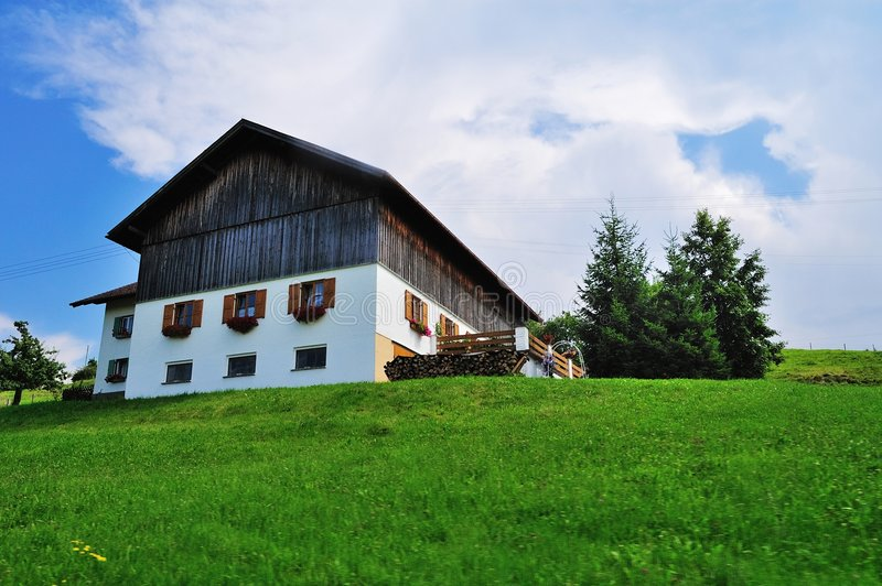 legno della casa fotografie stock libere da diritti