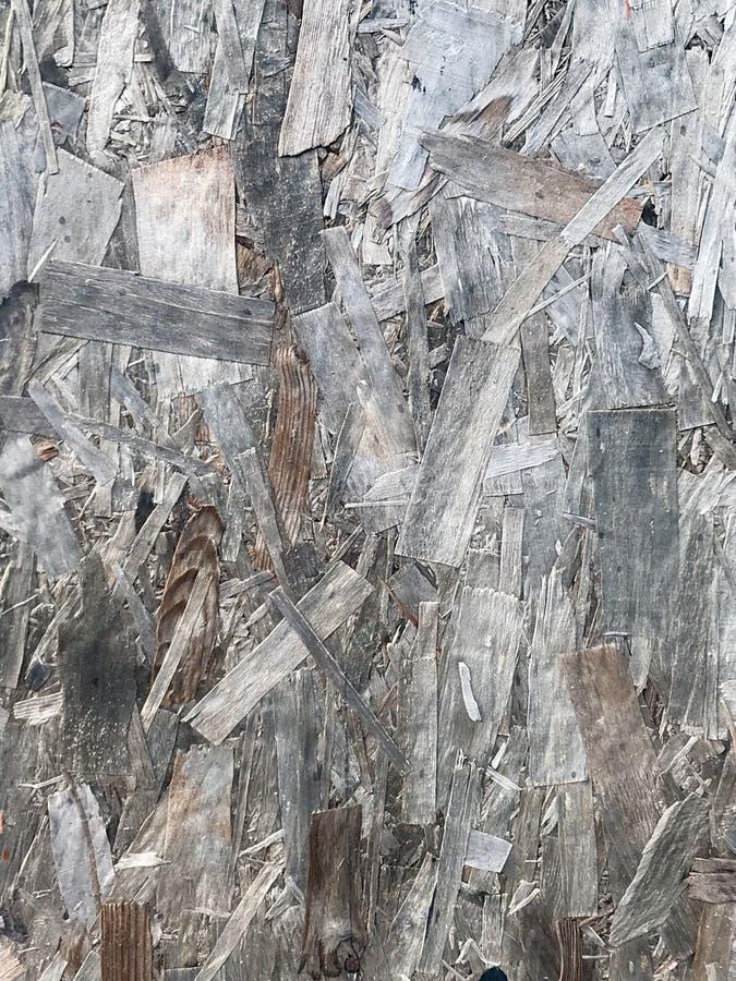 Legno di compensato antico sulla parete immagine stock