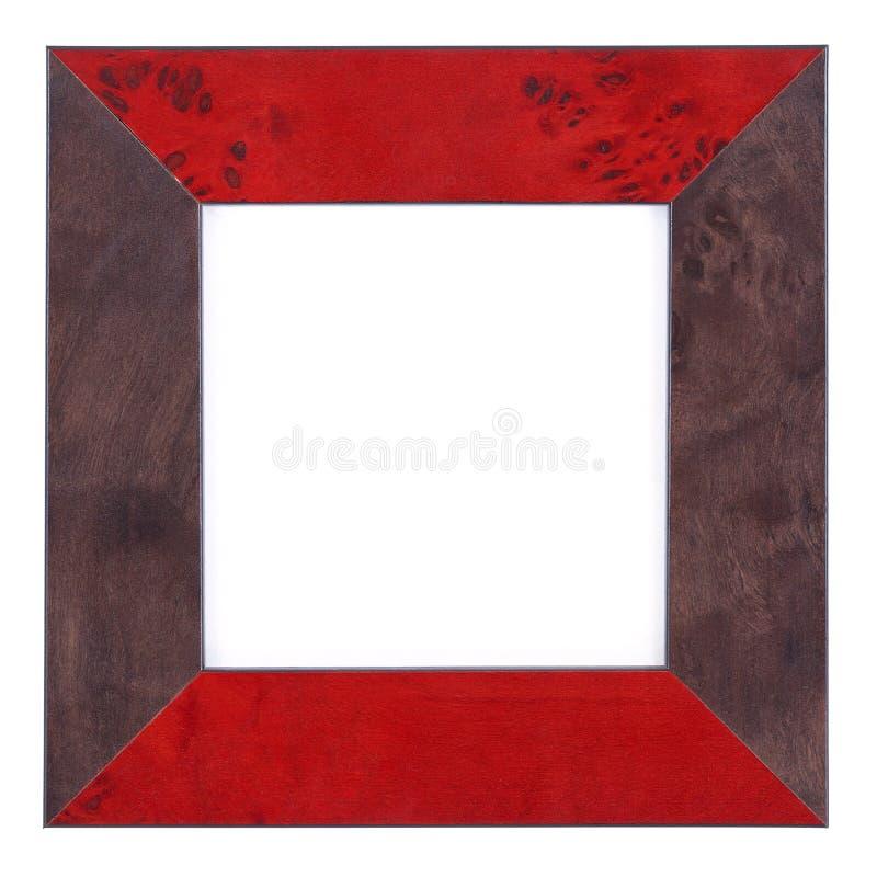 Legno Frame-5 fotografia stock