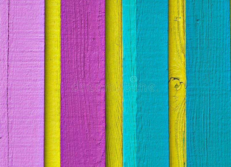 Legno nel multi colore fotografia stock libera da diritti