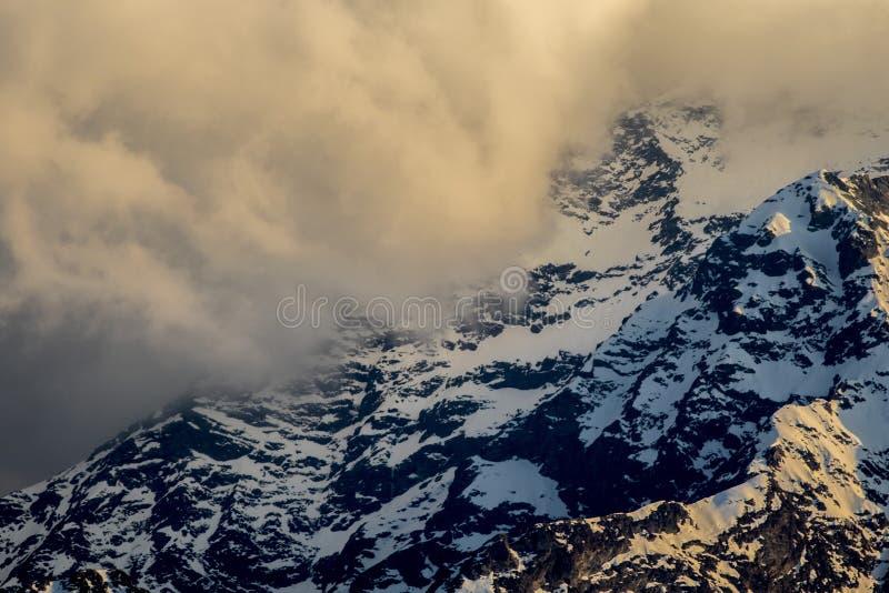 Legnone góra 2609mtsl fotografia royalty free
