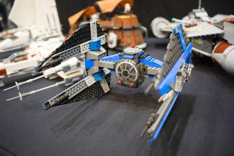 Lego Звездных войн стоковое изображение rf