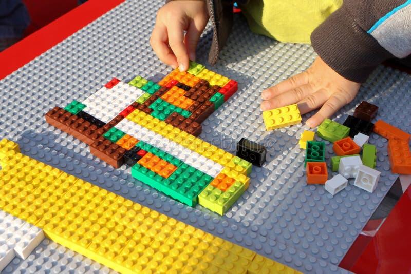 Lego fotografia de stock