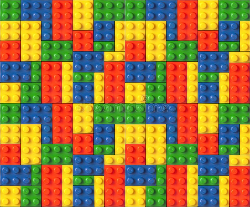 Lego. Blocks abstract desing background