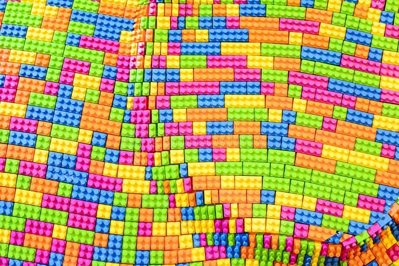 Lego Blocks Toy royaltyfria bilder