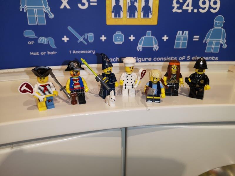 Lego Characters lizenzfreie stockfotografie