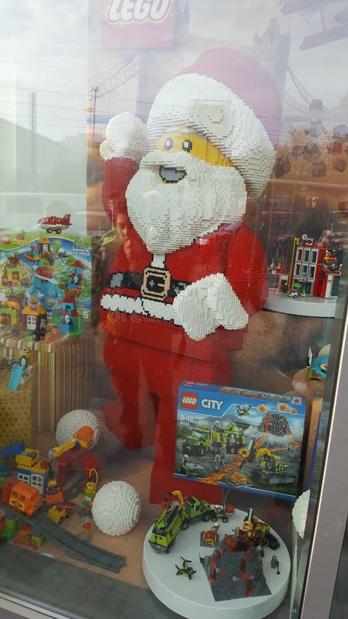 Lego Christmas foto de stock
