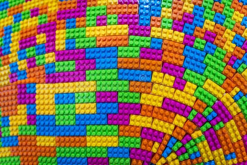 Lego. Colorful plastic lego brick background royalty free stock photo