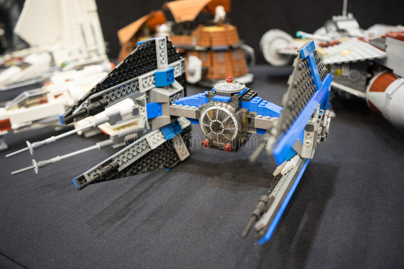 Lego de Guerres des Étoiles image libre de droits