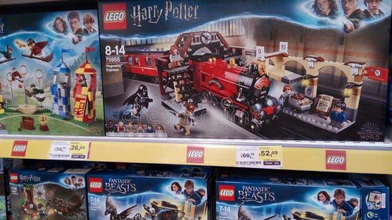 Lego de Harry Potter foto de stock royalty free