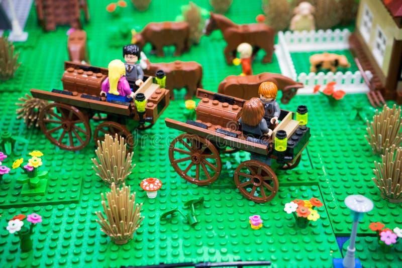 Lego de Harry Potter fotos de stock