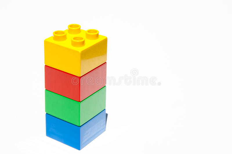 Lego elementy zdjęcie royalty free