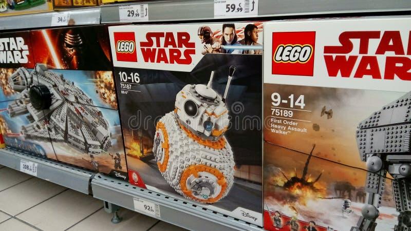 Lego för stjärnakrig royaltyfria foton