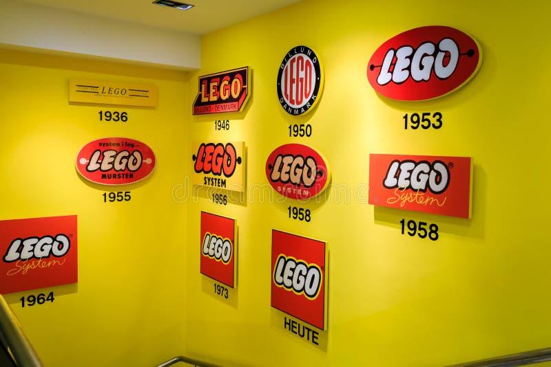 Lego history royalty free stock photo