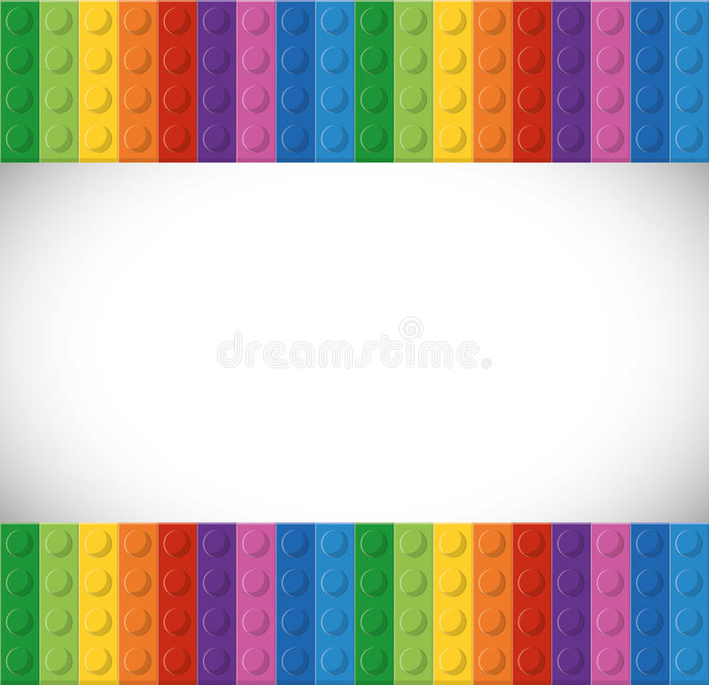 Lego icon. Abstract figure. Vector graphic stock illustration