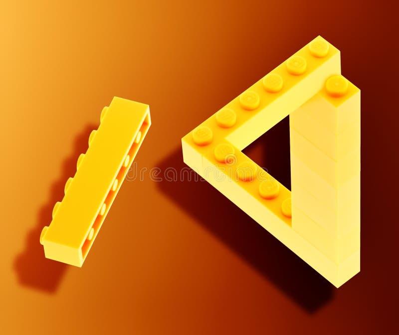 Lego imposible fotos de archivo
