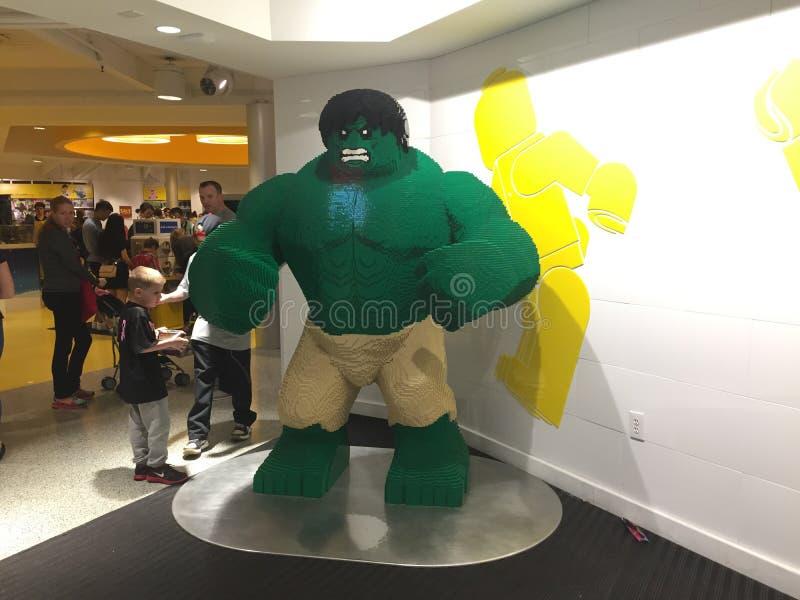 Lego Incredible Hulk fotografie stock libere da diritti