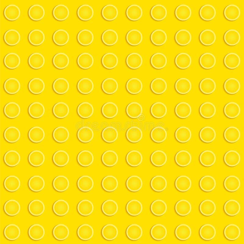 Lego kvarter mönstrar stock illustrationer