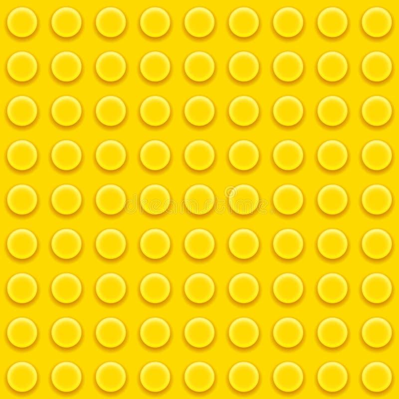 Lego kvarter mönstrar royaltyfri illustrationer