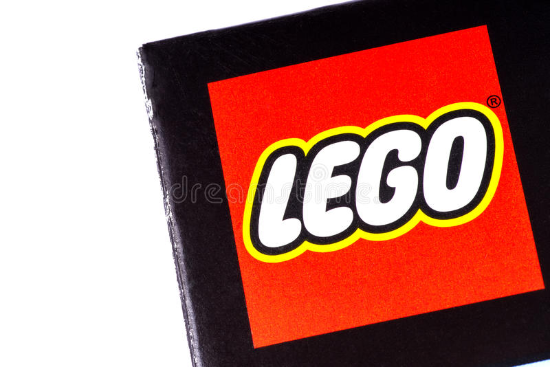 Lego Logo foto de archivo