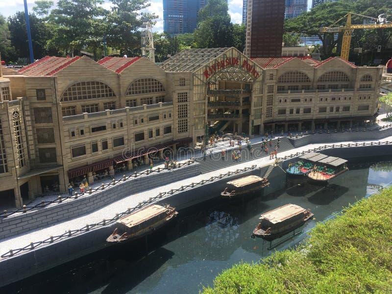 Lego-Miniatur bei Legoland Malaysia stockfotografie