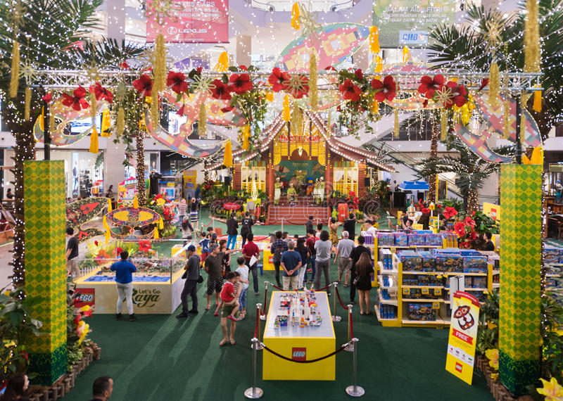 Lego promotion at Pavilion mall, Kuala Lumpur in Malaysia royalty free stock image