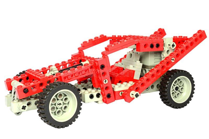 Lego Rennwagen stockfotos