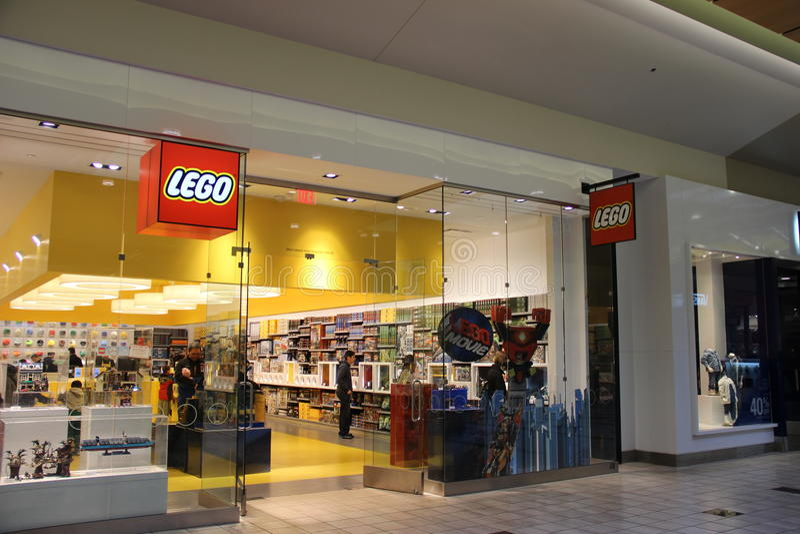 Lego sklep zdjęcie stock
