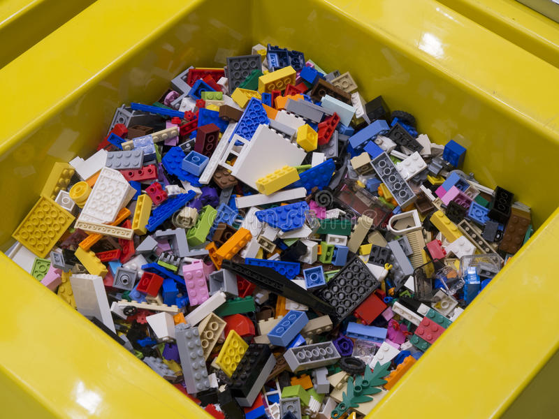 Lego Store Köpenhamn royaltyfri fotografi