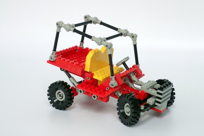 Lego Technic uppsättning inga 8845, dynbarnvagn royaltyfri fotografi