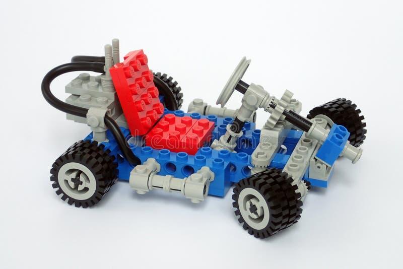 Lego Technic ustawiający żadny 1972, Iść Karta zdjęcia royalty free
