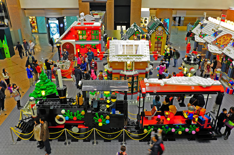 Exhibition Stand Builders Hong Kong : Lego toys exhibition at times square hong kong editorial