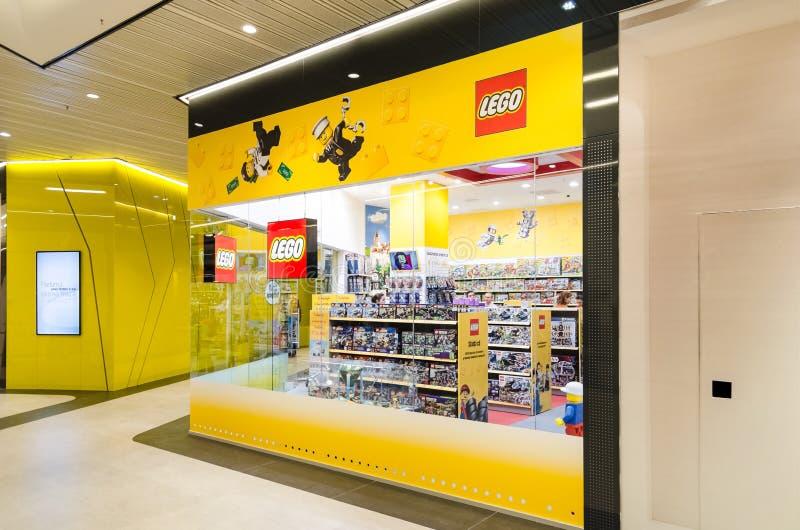 Lego Toys Shop royalty-vrije stock afbeelding