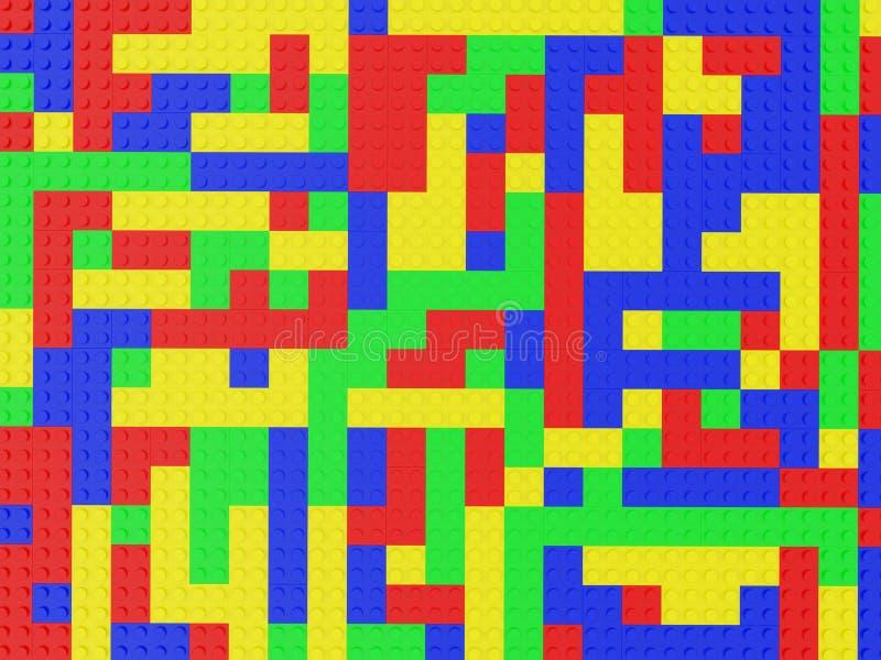 Lego van de textuur vector illustratie