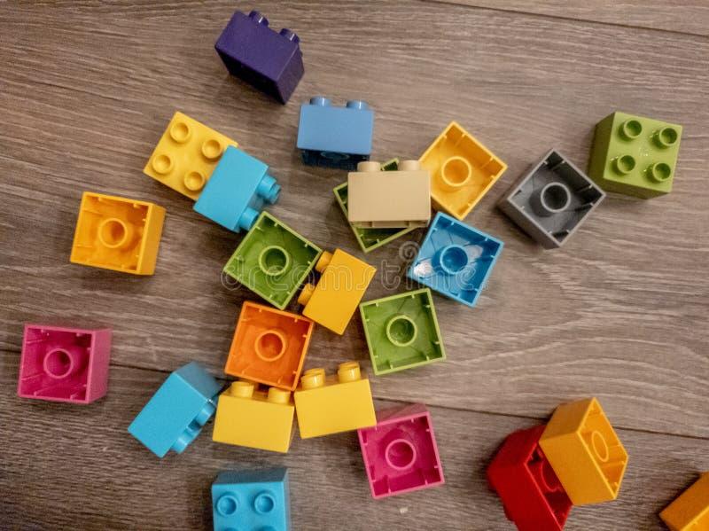 Lego-Welt lizenzfreies stockbild