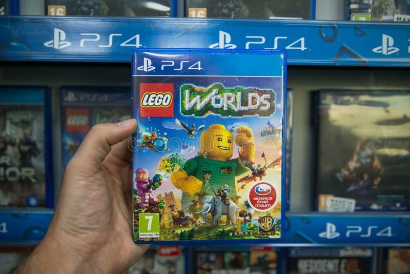 Lego Worlds image libre de droits