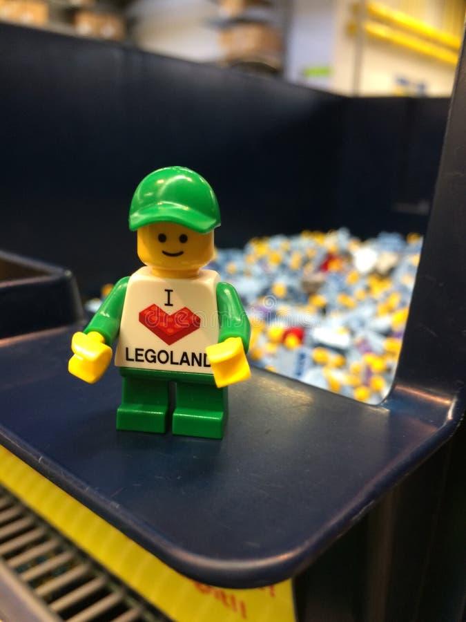 LEGO-Zahlen lizenzfreies stockfoto