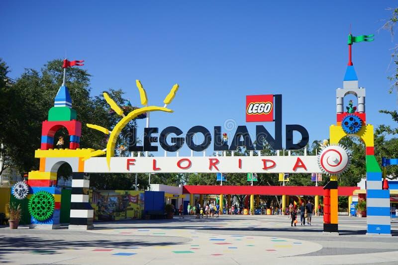 Legoland Φλώριδα στοκ φωτογραφία με δικαίωμα ελεύθερης χρήσης