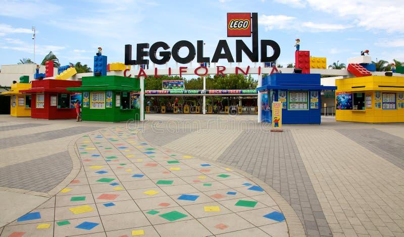 Legoland Kalifornien arkivbild