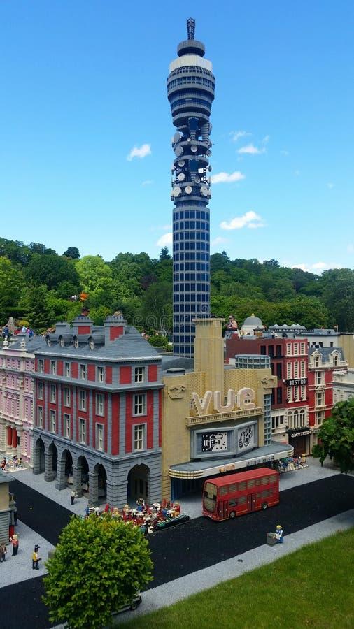 Legoland - Londen royalty-vrije stock fotografie